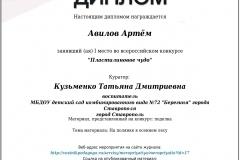 диплом Авилов